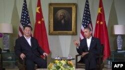 Predsednik Barak Obama i kineski predsednik Ši Djinping tokom samita u Kaliforniji