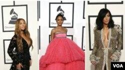 Beyoncé, Rihanna et Kim Kardashian (archives).