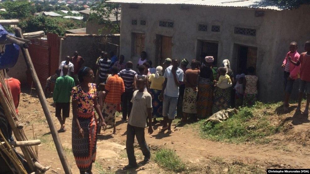 Les tueries ne cessent pas dans le quartier Musaga, au sud de Bujumbura, le 28 avril 2015.