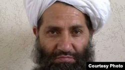 A photo circulated by the Taliban of new leader Mullah Hibatullah Akhundzada.