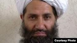 아프가니스탄 탈레반의 새 지도자로 임명된 물라 하이바툴라 아쿤자다. (자료사진)