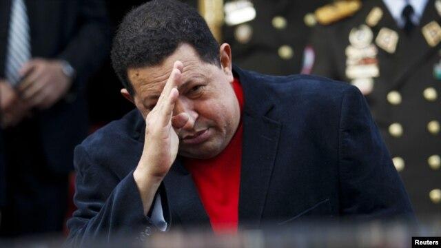 Tổng thống Venezuela Hugo Chavez.