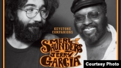 "Merl Saunders and Jerry Garcia on the album cover of ""Keystone Companians"" (Courtesy Concord Records)"