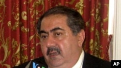 Hoshyar Zebari, Iraqi Foreign Minister in Washington, D.C. on July 14, 2010