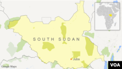 The Briton was reportedly shot as he entered the office compound of the Carter Center in Juba, the capital.