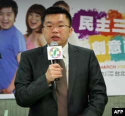民进党发言人蔡其昌(资料照片)
