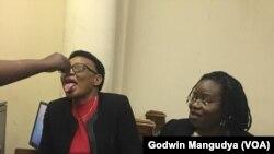 MDC Legislator, Thabitha Khumalo.