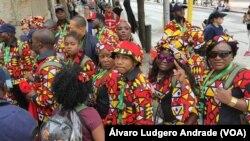 Católicos angolanos no Encontro Mundial das Famílias, Filadélfia