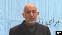 Həmid Karzay beynəlxalq qüvvələri Əfqanıstanı tərk etməyə çağırıb