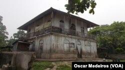 Património abandonado em São Tome e Príncipe