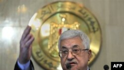 """Mahmud Abbas:"""" Mövcud olmayan hakimiyyətin prezidenti kimi qala bilmərəm."""""""