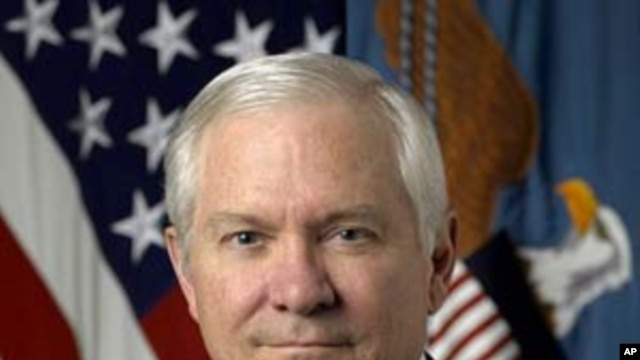 U.S. Defense Secretary Robert Gates