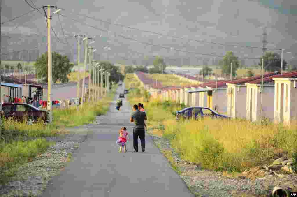 Три года после войны: судьба грузинских беженцев