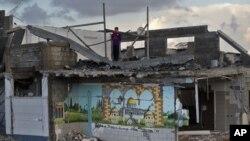Сектор Газа. 25 ноября 2012 года