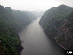 险峻的乌江,红军当年曾在这一带渡江