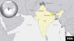 印度地理位置