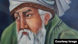 تصویر منسوب به مولانا جلال الدین محمد بلخی