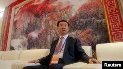中国大连万达集团董事长王健林(资料照片)