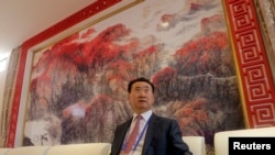 王健林2013年9月在青岛