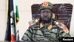 جنوبی سوڈان کے صدر سلوا کیر