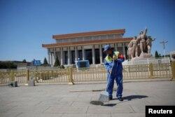 毛主席纪念堂。1983年,纪念堂内增设了毛泽东、周恩来、刘少奇、朱德纪念室。