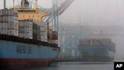 Las exportaciones estadounidenses se vieron afectadas entre octubre y diciembre de 2012 por la recesión en Europa.