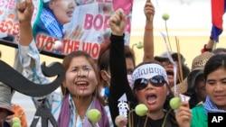 Cambodia Land Protest