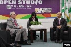 民进党主席苏贞昌会晤AIT主席薄瑞光(民进党提供)