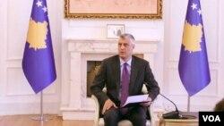 Hasim Tači, predsjednik Kosova