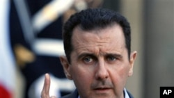 President of Syria Bashar al-Assad (file)