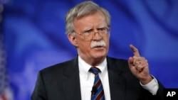 El exembajador de EE.UU. en las Naciones Unidas, John Bolton, es un político de línea dura que apoya el uso de la fuerza contra Irán y Corea del Norte.