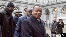 Denis Sassou Nguesso, le président de la République du Congo