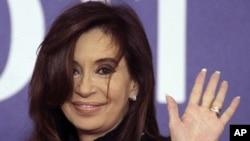 Argentina's President Cristina Fernandez Kirchner (file - Nov.3, 2011).