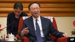 Ông Dương Khiết Trì - Chủ nhiệm Văn phòng Ủy ban Đối ngoại Trung ương Đảng Cộng sản Trung Quốc.