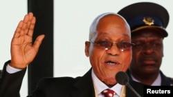 Tổng thống Nam Phi Jacob Zuma.