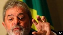 Brazil's former President Luiz Inacio Lula da Silva (file photo)