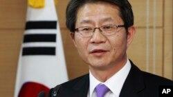 韩国统一部长柳吉
