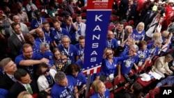 2016年7月19日,共和党全国代表大会按州投票,正式提名川普为共和党2016年总统候选人。