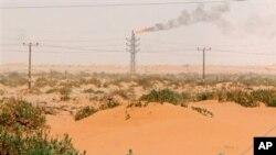 Naftno polje u Saudijskoj Arabiji