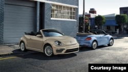 Volkswagen announced that to celebrate the end of the Beetle, the company will launching two final models of the car in 2019. (Volkswagen)