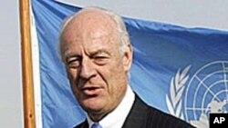 ډې میستورا: افغان حکومت ته د مسولیت سپارلو شرایط برابر دي
