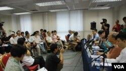 約有100名參加者出席論壇,其中有參加者在研討會結束後數日,向警方投訴佔中倡議者煽動他人犯罪