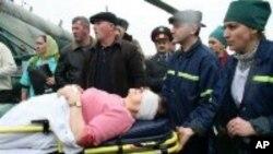 انفجار در یک قطار آهن در فدراتیف روسیه