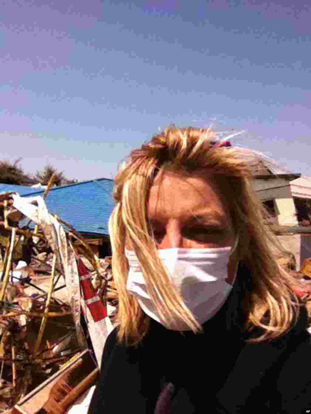 Filmmaker Lucy Walker filmed along the northeastern coast of Japan in 2011 the weeks after the Fukushima disaster. (All photos courtesy Lucy Walker)