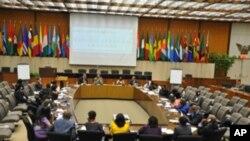 Les jeunes leaders africains au département d'Etat