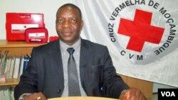 Américo Ubisse secretário-geral Cruz Vermelha Moçambique (Foto Francisco Júnior)