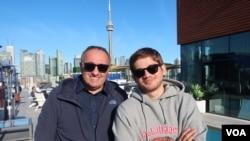 Александр Роднянский и Кантемир Балагов в Торонто. Фото Олега Сулькина.