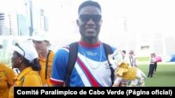 Gracelino Barbosa, atleta paralímpico cabo-verdiano