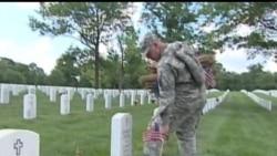 2012-05-27 美國之音視頻新聞: 奧巴馬向美國退伍軍人致意