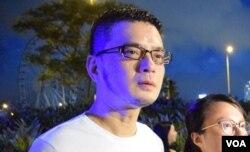 香港歌手黃耀明。(美國之音湯惠芸)